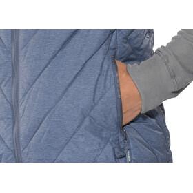 Meru White Rock Padded Vest Men jeans melange